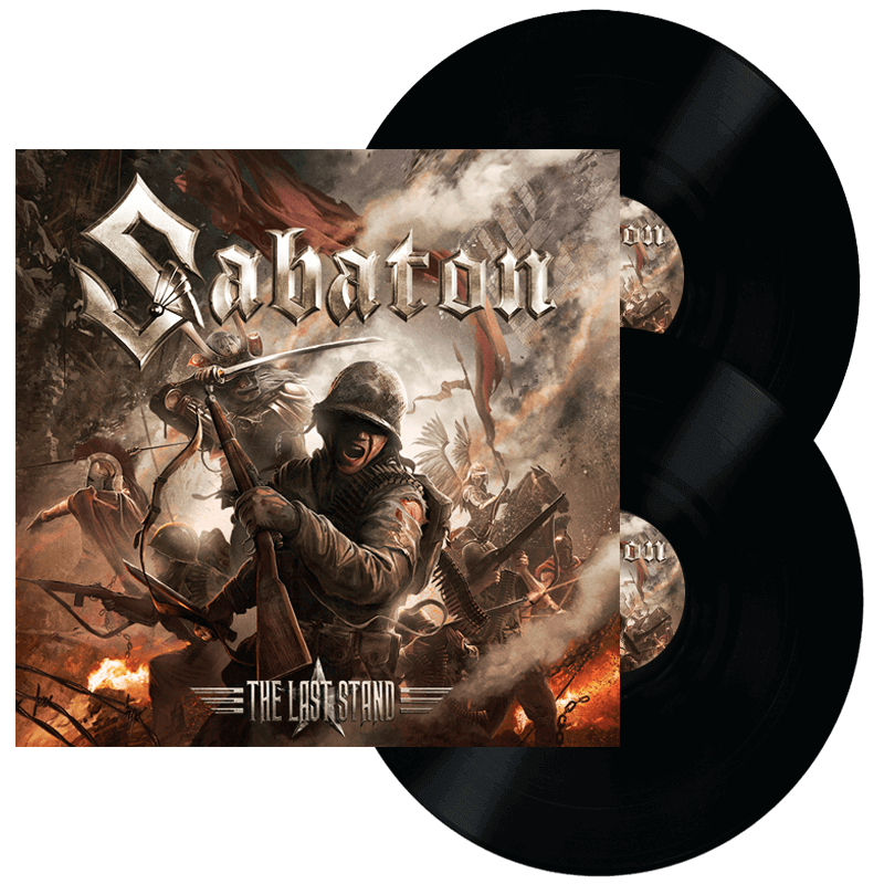 The last stand vinyl lp Sabaton