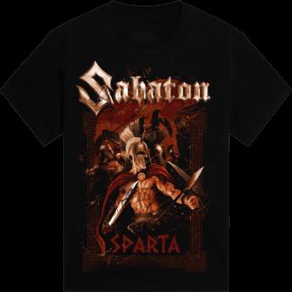 Sparta Sabaton tshirt frontside