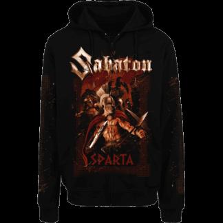 Sparta Sabaton zip hoodie frontside