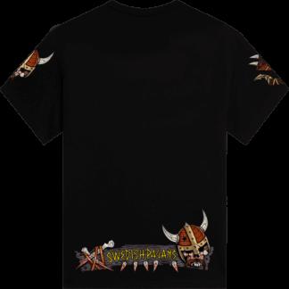 Swedish pagans Sabaton tshirt backside