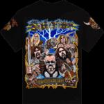 Swedish pagans Sabaton tshirt frontside