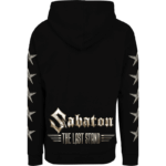 The last stand Sabaton zip hoodie backside