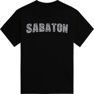 Six pack Sabaton tshirt backside