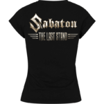 The last stand Sabaton girls tshirt backside