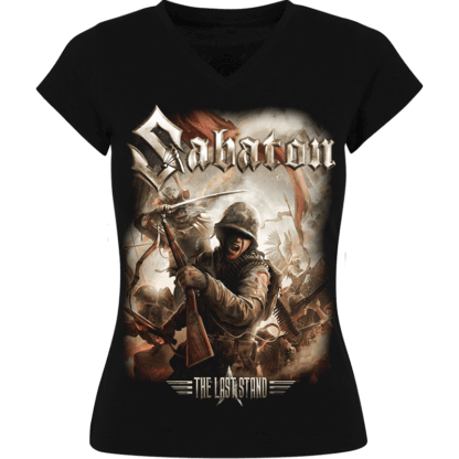 The last stand Sabaton girls tshirt frontside