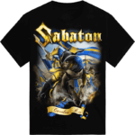 C arolus Rex 1682-1718-Sabaton tshirt frontside