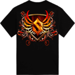 Coat of arms Sabaton t-shirt backside