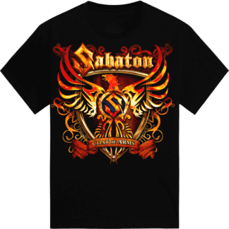 Coat of arms Sabaton t-shirt frontside