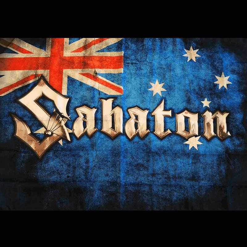 Australia Sabaton Logo Flag
