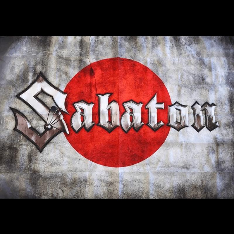 Japan Sabaton Logo Flag