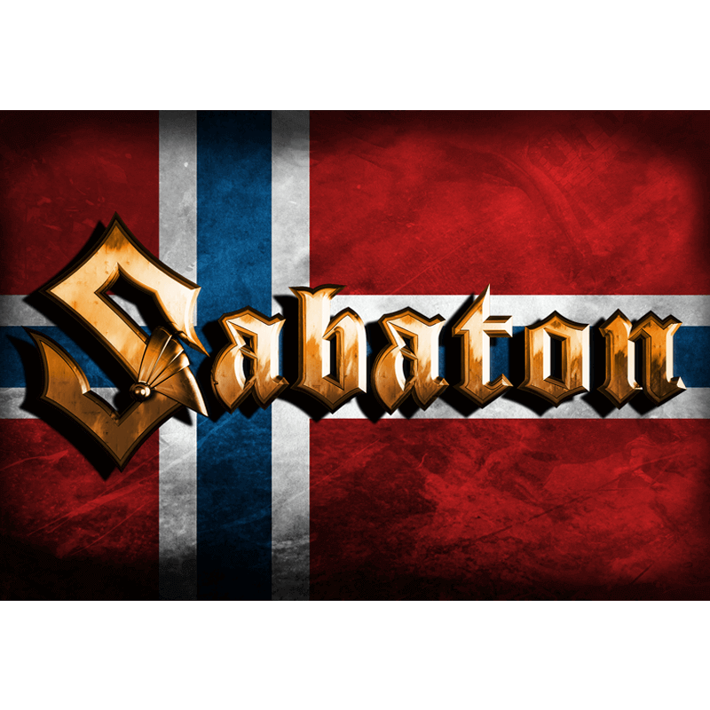 Norway Sabaton Logo Flag
