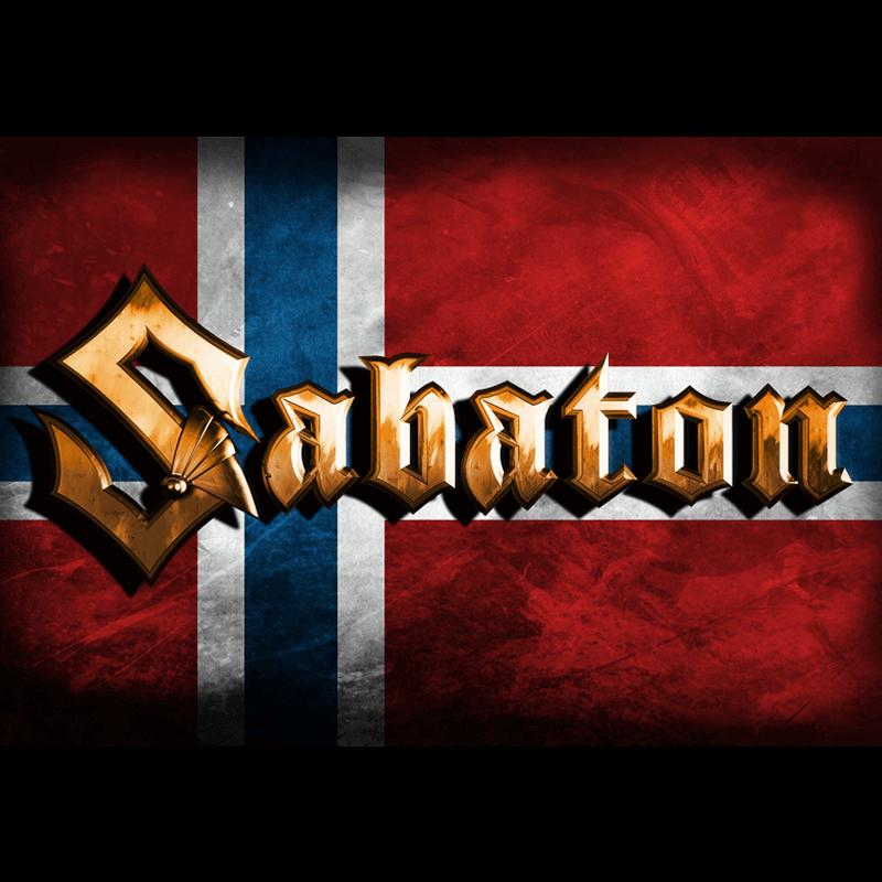 Norway Sabaton Logo Flag