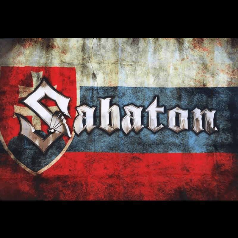Slovakia Sabaton Logo Flag