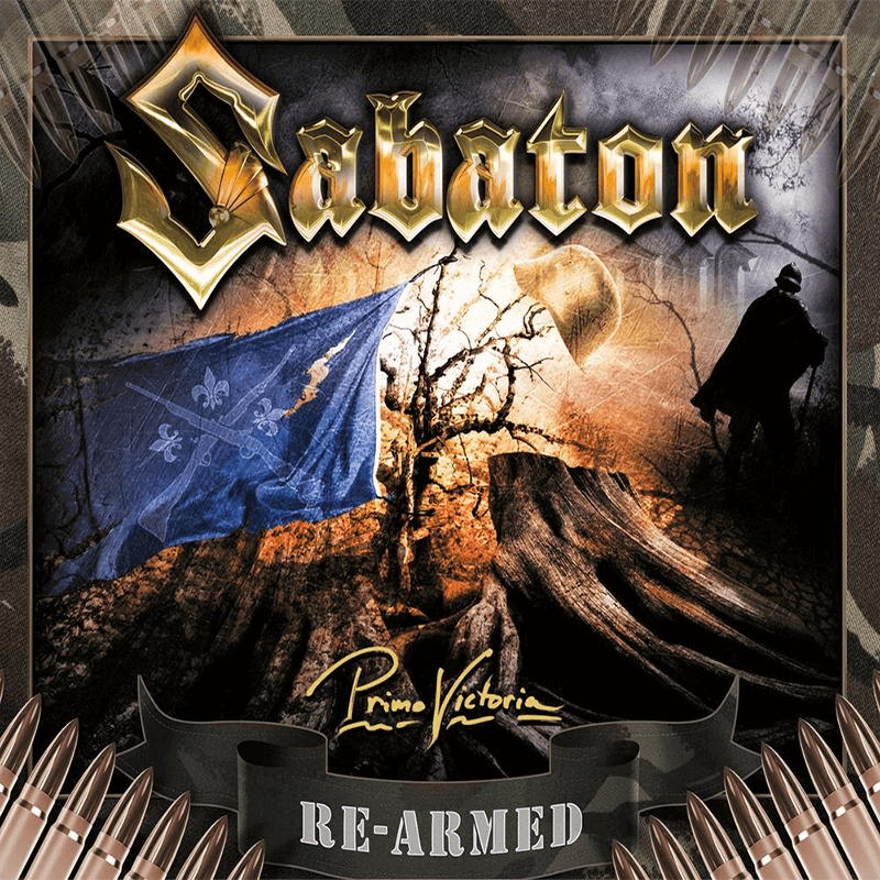 Primo Victoria Re-armed Sabaton CD