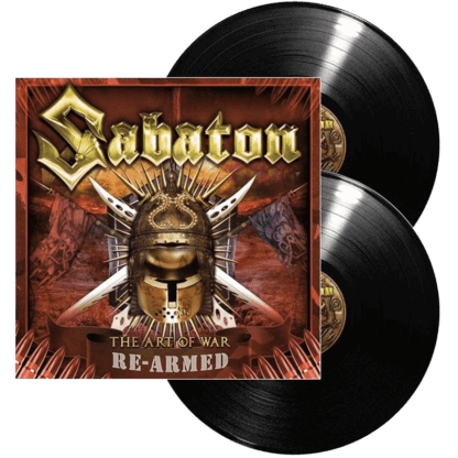 The art of war vinyl lp re-armed Sabaton