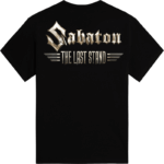 The last stand Sabaton tshirt backside