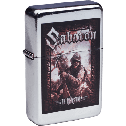The last stand Sabaton lighter frontside