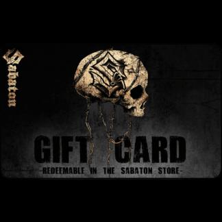 Sabaton gift card