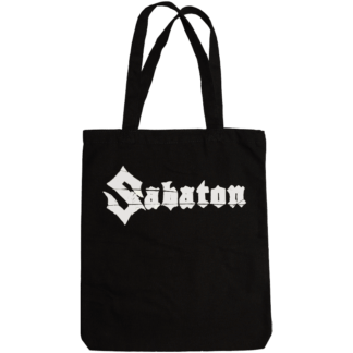 Sabaton official tote bag backside