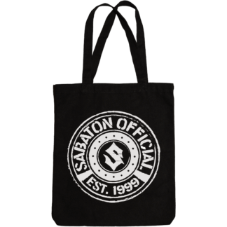 Sabaton official tote bag frontside