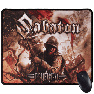 The last stand Sabaton mousepad