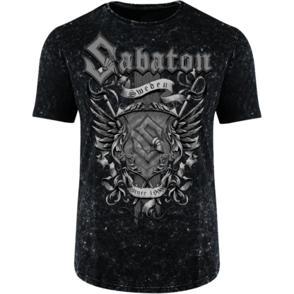 Sabaton Platinum Limited Edition T-shirt Frontside