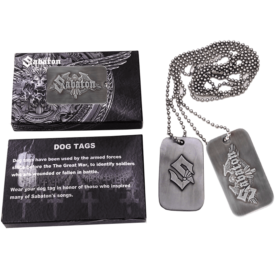 Sabaton Dog Tags Box