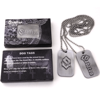 Sabaton dog tags set