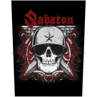 Unknown soldier Sabaton back patch