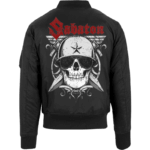 Unknown soldier Sabaton bomber jacket backside