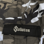 Sabaton signature camo pants pocket