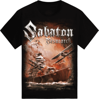 Bismarck Sabaton tshirt frontside