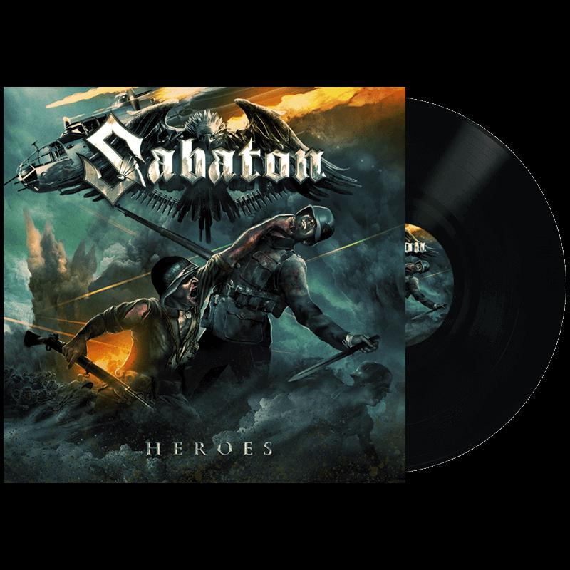 Heroes vinyl lp Sabaton