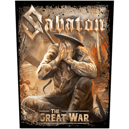 The Great War Sabaton Back Patch