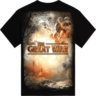 The great war Sabaton tshirt backside
