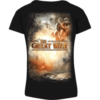 The great war Sabaton women's tshirt backside