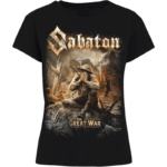The great war Sabaton women's tshirt frontside