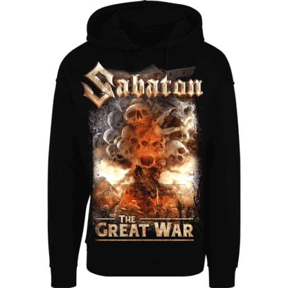 What's so fucking great about it Sabaton nonzip hoodie frontside