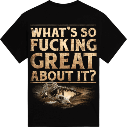 pretty nice 5c184 1db02 What's So Fucking Great About It T-shirt | Sabaton Official ...
