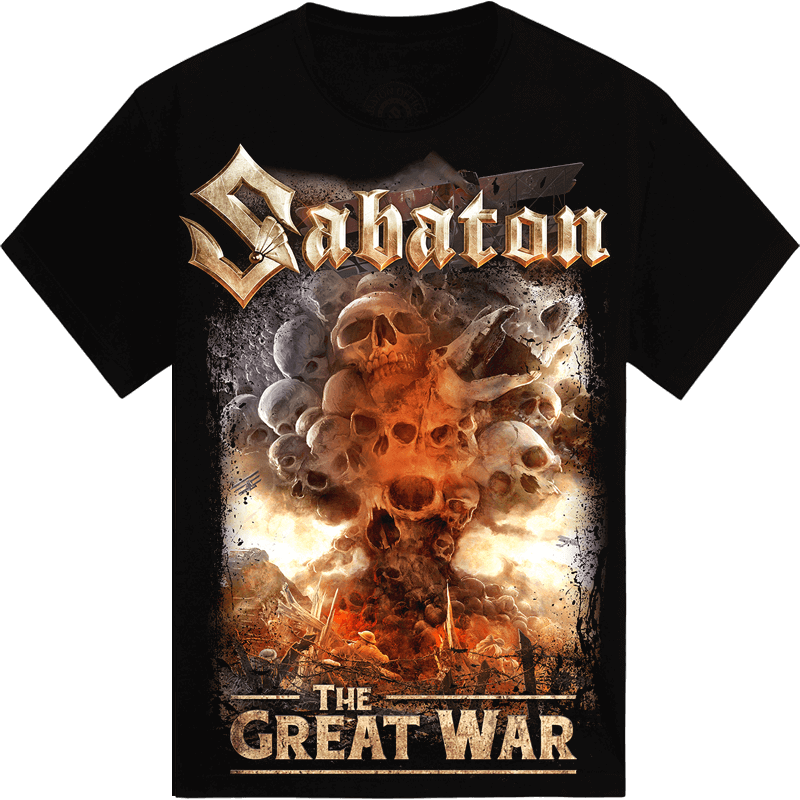 What's so fucking great about it Sabaton tshirt frontside