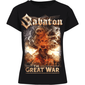 What's so fucking great about it Sabaton women's tshirt frontside