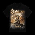 The Great War Sabaton Kids T-shirt Frontside