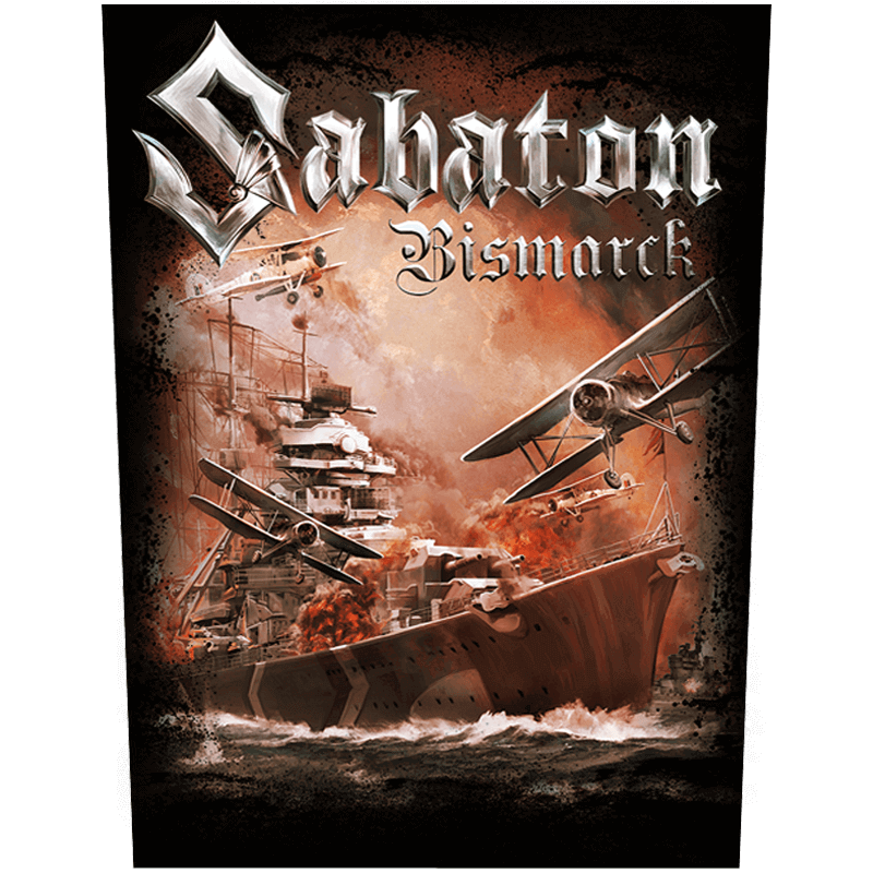Bismarck Sabaton back patch