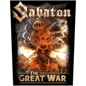 What's So Fucking Great About It Sabaton Back Patch