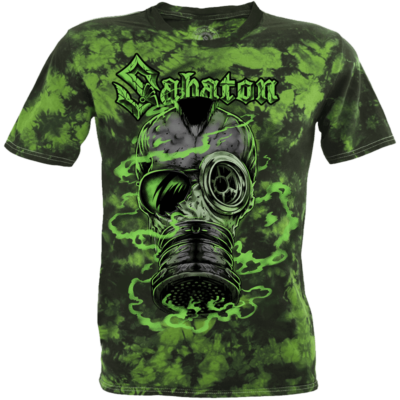 Attack of the Dead Men Sabaton T-shirt Frontside