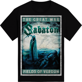 Fields of Verdun Sabaton T-shirt Frontside