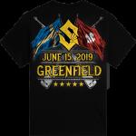 Greenfield Festival Sabaton Exclusive Tshirt Backside
