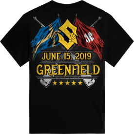 Greenfield Festival Sabaton Exclusive Tshirt Backside