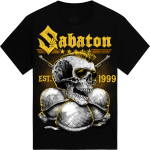 Greenfield Festival Sabaton Exclusive Tshirt Frontside