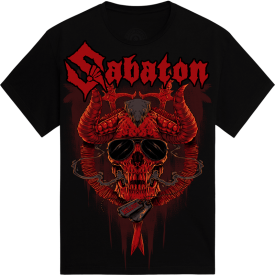 Hellfest Open Air Festival Sabaton Exclusive Tshirt Frontside